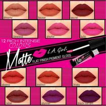 Labiales Mate L.a.girl Matte 12 Colores En Stock Directo Usa