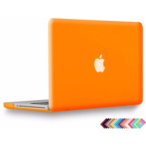 Carcasa Funda Case Protector Macbook Pro 13 Naranja