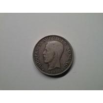 Moeda Suecia 1 Krona 1939 -g- Prata