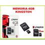 Memoria Kingston 4gb Nuevas Somos Tienda Fisica