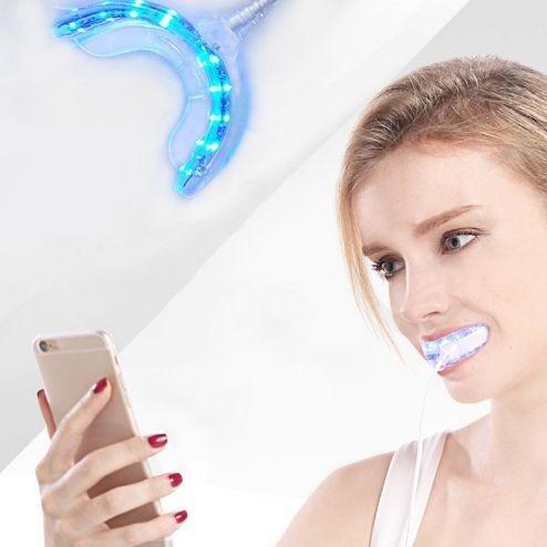 Como Clarear Os Dentes Facil Com Led Com Usb E Frete Gratis R 120