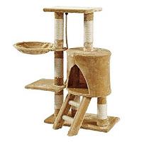 Rascador Gato Con Hamaca Y Escalera 96cm Alto