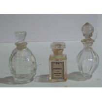 Mini Frascos De Perfumes Franceces De Los 50s