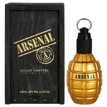 Arsenal Gold Masculino Eau De Parfum Gilles Cantuel 100 Ml