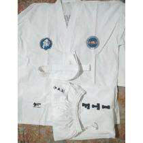 Dobok Taekwondo I T F Asociación Buenos Aires Abati Talle 8