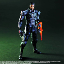 Play Arts Kai Square Enix Commander Shepard Mass Effect