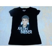 Polera Estampada Jostin Bieber Talla 16 Bravado