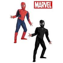 Disfraz Spiderman - Hombre Araña Negro Original Marvel