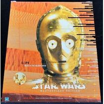 C-3po Masterpiece Edition Libro 1/6 Star Wars Legacyts