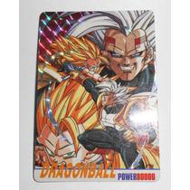 Carta Naipe Dragon Ball Z Power 80000