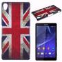 Case Capinha Sony Xperia Z3 D6643 Inglaterra Reino Unido