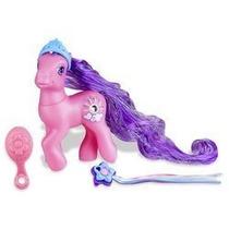 Juguete My Little Pony Forro De Plata Con El Super Cabello