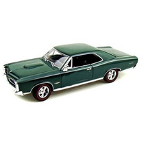 Auto De Colección Metal 1966 Pontiac Gto Welly