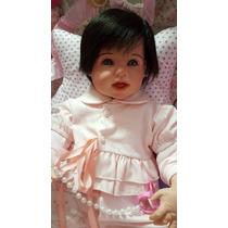 Bebe Reborn Ariella Inteira De Silicone Linda !real Baby