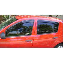 Calha De Chuva Tg Poli Renault Sandero 07/14 4 Portas