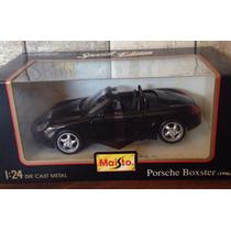 Auto Porsche Boxster D Coleccion 1996 Sin Uso Maisto 1/24