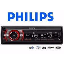 Player Philips Ce-133 Usb/sd/mp3 - Novo