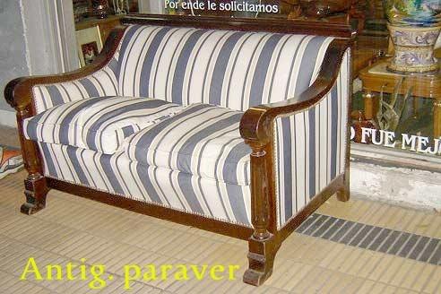 juego de living sillones diseo art deco retro buen tapizado - Sillones Diseo