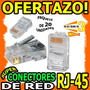 Wow Conector Rj45 X20 Pieza Para Cable De Red Cat5e Ethernet