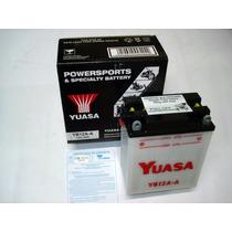 Bateria Yuasa Yb12a-a Cb400/450/dx Cbr450 400/500/550four