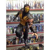 Estatua De Resina Do Scorpion Mortal Kombat Ótimo Preço