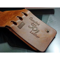 Carteira Masculina Couro Leather Genuine Ótimo Preço