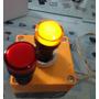 Ojo De Buey Luz Piloto Led Señalizador Rojo 22mm 24v Ac/dc