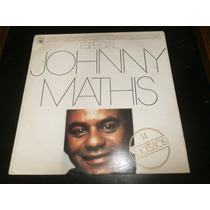 Lp Johnny Mathis, Especial 14 Sucessos, Disco Vinil, 1978