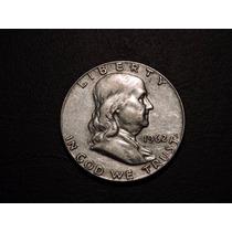 Estados Unidos 1/2 Dolar 1962 De Plata 900 Usa Half Medio