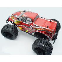 Carro De Controle Remoto Nitro Racing Hummer + Kit Starter