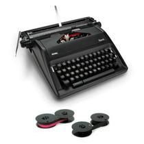 Real Época Máquina De Escribir Portátil Con La Cinta De Máqu
