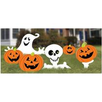 Halloween Día De Muertos Calabaza Calavera Fantasma Adorno