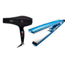 Kit Professional Mq Hair Prancha Secador De Cabelo Titanium