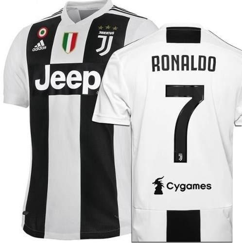 5c0a53fbc Camisa Juventus Nº7 Cr7 Oficial Partida 2019 Promoção - R  139