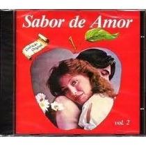 Cd Sabor De Amor - Vol.2