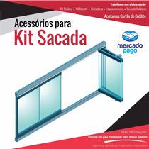 Sacada De Vidro Kit 3 Metros