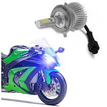 Lampada Farol Led Moto Bi Xenon H4 Baixo + Alto 6000k