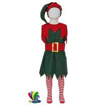 Disfraz Navidad Duende Niña Pastorelas