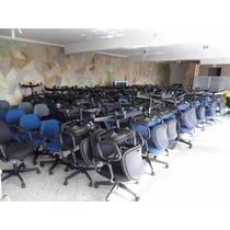 Cadeira Poltrona Reclinável Giratória Giroflex P/ Escritório