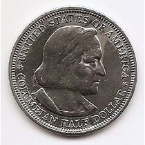 Usa, Moeda De 1/2 Dolar, 1893, Prata - Colombo -