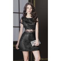 · Elegante Vestido Andrea Encaje Con Trasparencias 1241594