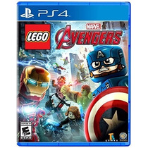 Lego Marvel Avengers Ps4 One Nuevo Sellado