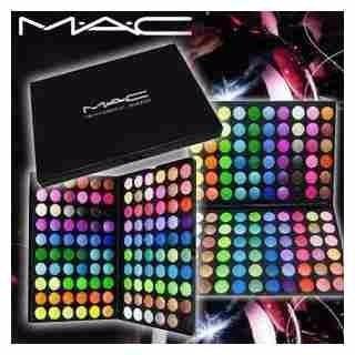 paletas mac 120 sombras maquillaje profesional importadas