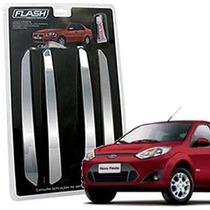 _friso Para-choque Cromado Fiesta Sedan 2013 14 15 Jg 4pçs
