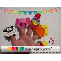 Títeres De Dedo Mini- Mini Finger Puppets