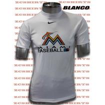 Sudadera Manga Corta Nike Estampado Beisbol Grandes Ligas
