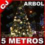 Arbol De Navidad 500cm Altura Pino Canadiense Artificial 5mt