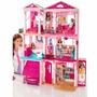 Barbie Casa Dos Sonhos + De 70 Acessórios Da Mattel Cjr47