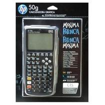 Calculadora Gráfica Hp 50g Com Capa Original