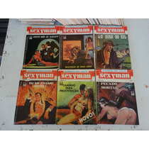 Sexyman! Vários! Editora Noblet! R$ 15,00 Cada Exemplar!